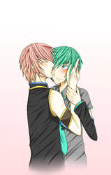 Luki and Mikuo by AliceLovesYou