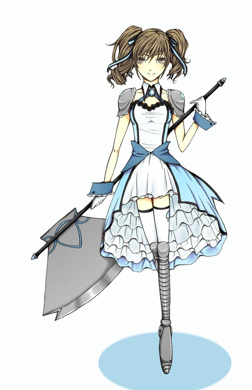 Magical Girl Design 1 By AliceLovesYou On DeviantArt