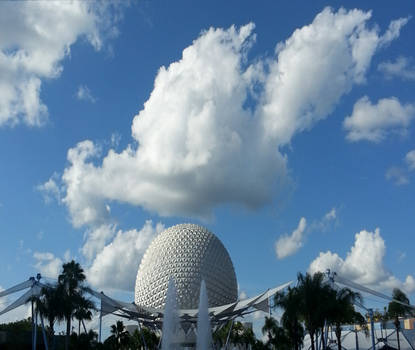 Mickey Mouse at Epcot Center