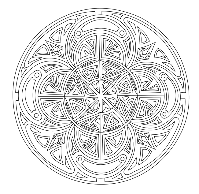 Image Result For Free Printable Intricate