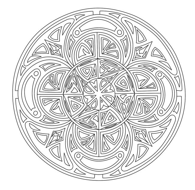 Image Result For Printable Celtic Mandala