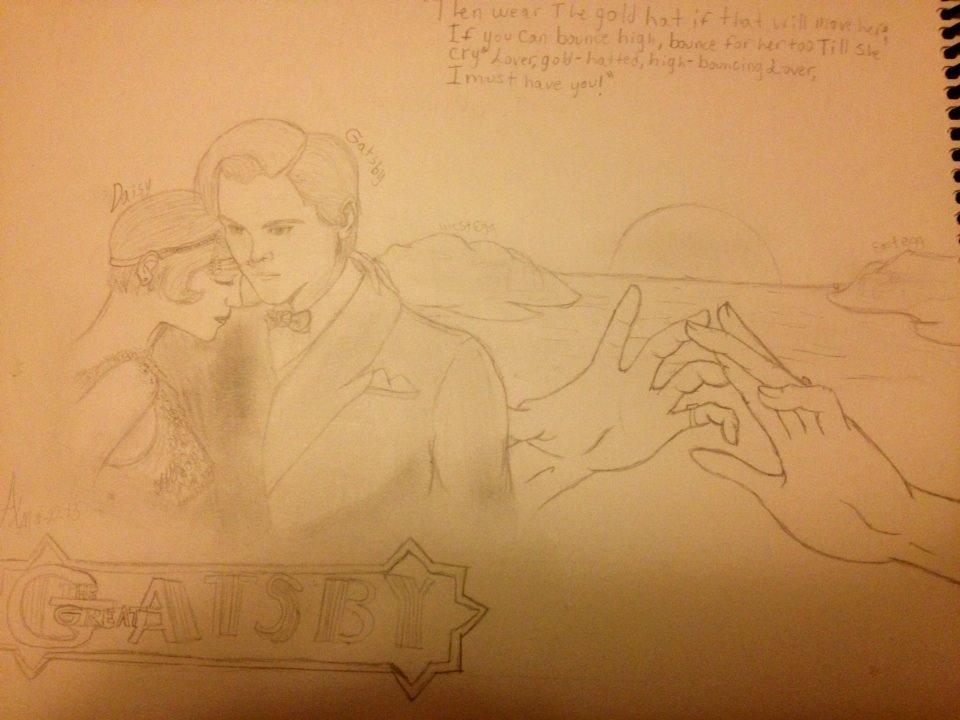 the great gatsby fan art by celestialdarkharvest on deviantart