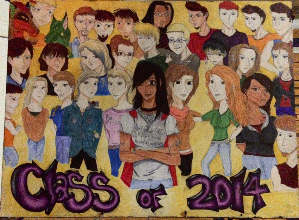 Class Of 2014 by CelestialDarkHarvest