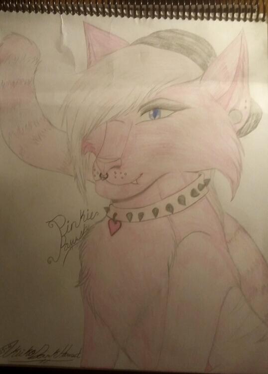 Pinkie Pawsh Fanart by CelestialDarkHarvest