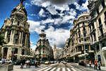 Madrid Metropolis by Yoquini