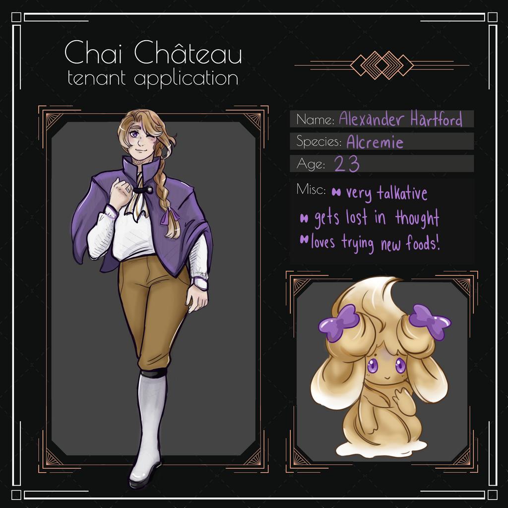 [Chai Chateau] Alexander Hartford
