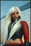 Female Dante in Guggenheim