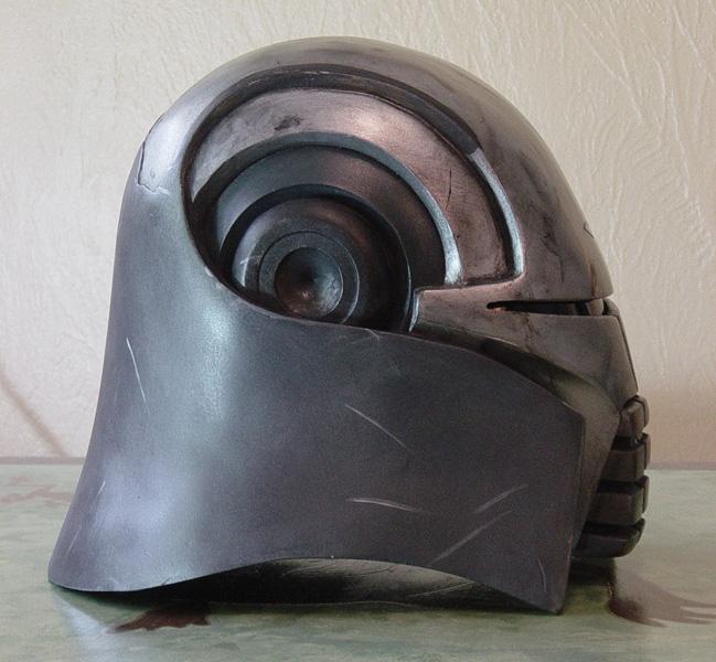 Lord Starkiller Helmet by MyWickedArmor