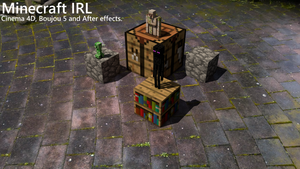 Minecraft IRL Short Video by iTzSnD
