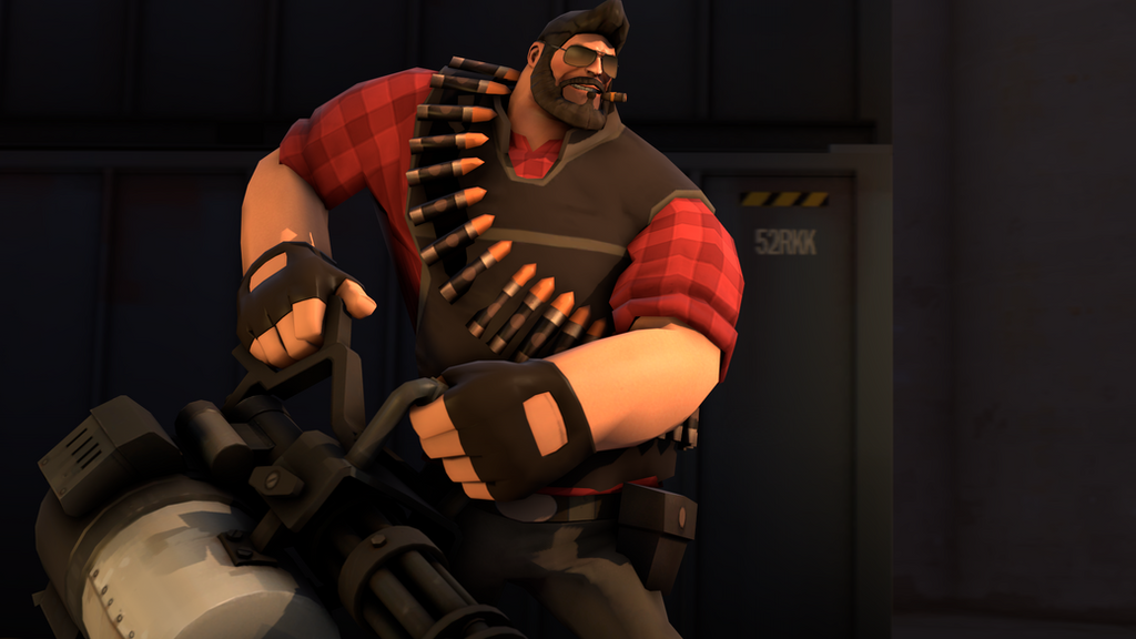 Heavy Weapons Guy by Divanchik12