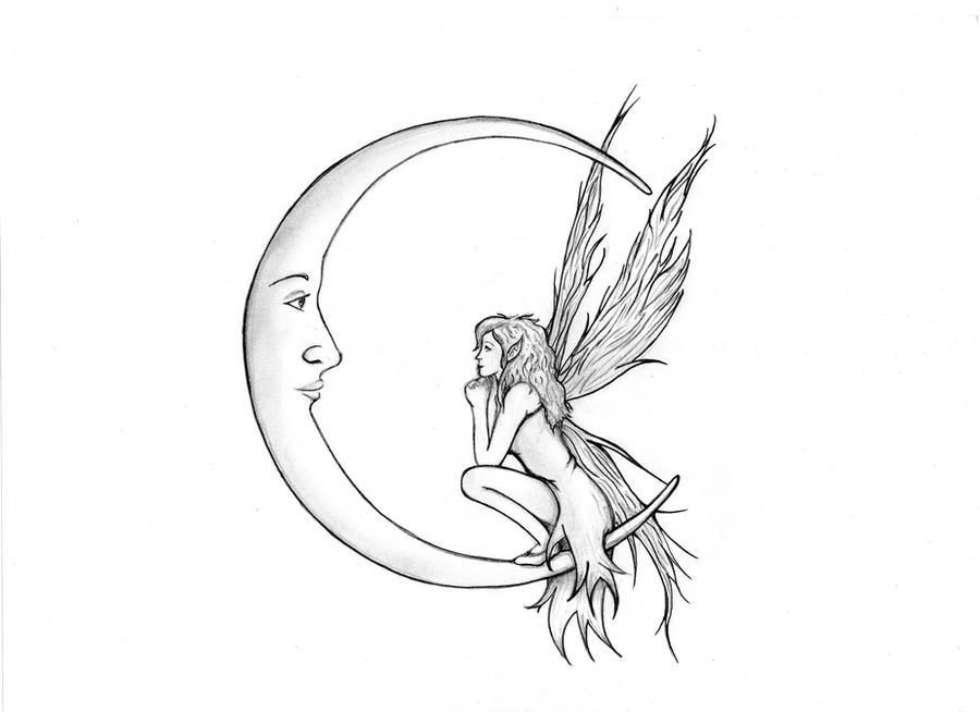 easy mystical coloring pages - photo#27