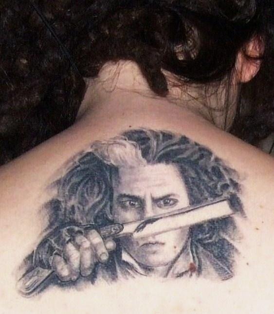 sweeney todd tattoo by angeliika on deviantart