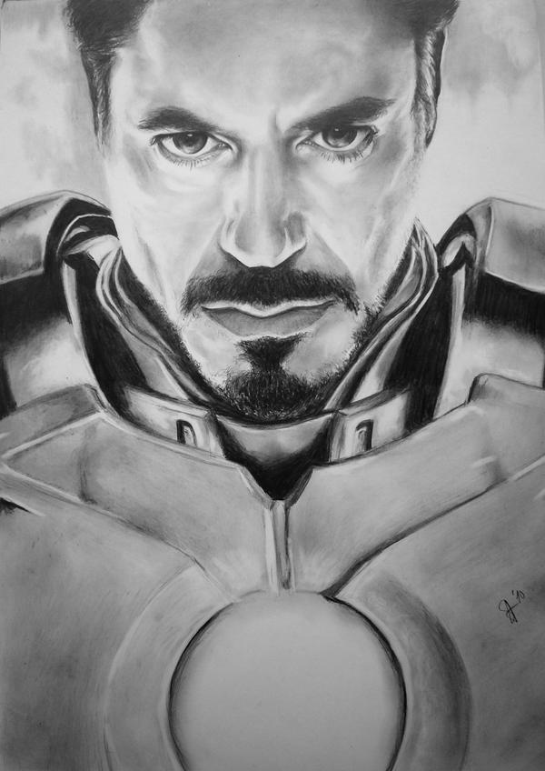 Robert Downey Jr. as Stark by Angeliika