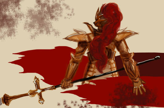 Dark Souls: Dragonslayer Ornstein
