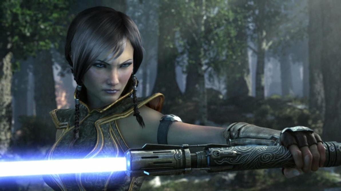 Jedi Warrior Woman by Thrumm