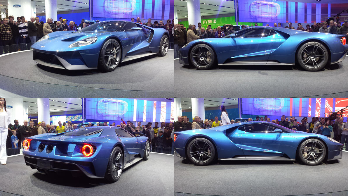 The New Ford Gt By Thrumm