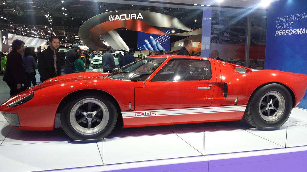 The Original Ford Gt By Thrumm