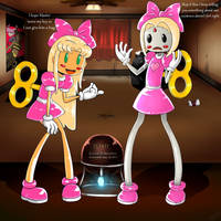 Titan Dolly curse (pretty in pink) by Gojiro7