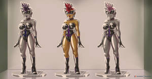 Titan Henchgirls for sale (closed hours) close up