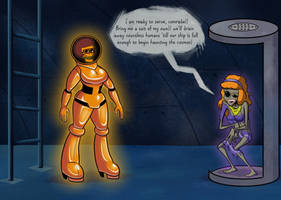 Velma the Space Kook 2: Suit up