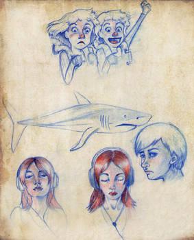 Varios bocetos