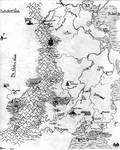 Map of Dantereanor by Feanor-the-Dragon