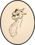 Avarice Portrait by Feanor-the-Dragon