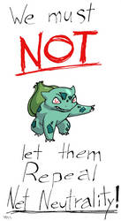 Bulbasaur is for NN!  And You Should Be Too! by Feanor-the-Dragon