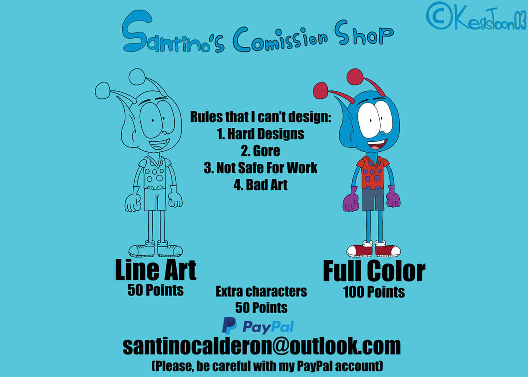 Santino's Commission Shop (Closed)