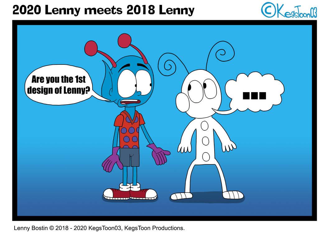 2020 Lenny meets 2018 Lenny