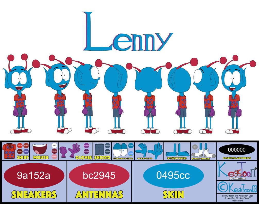 Lenny's Full Body Character Sheet Ver. 2