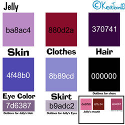 Jelly Color Sheet
