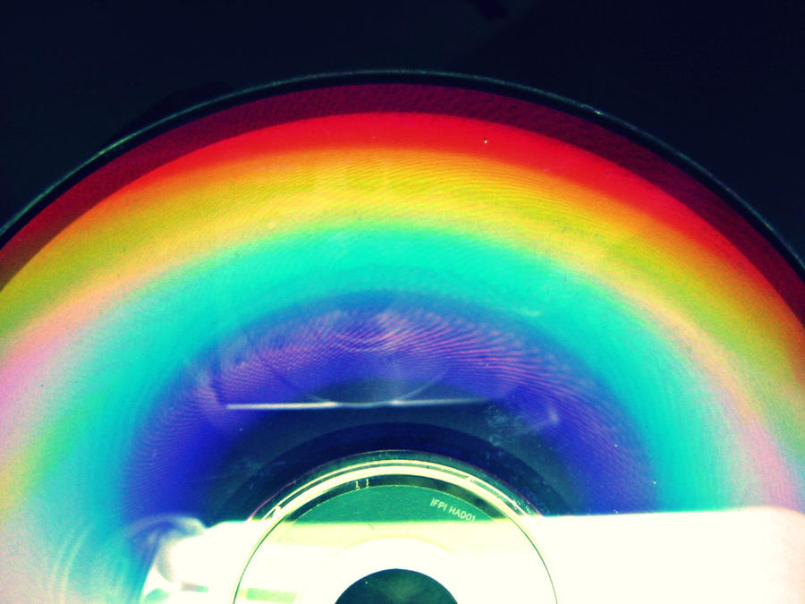 rainbow disc by chisa18