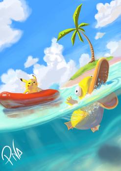 Pokemon Vacation