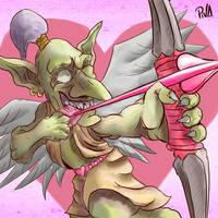 Valentines Day Goblin