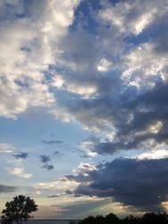 Sunset Godrays