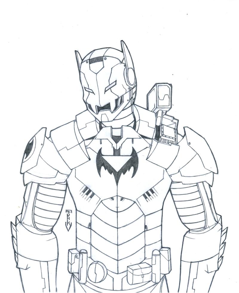 iron man batman iron bat by puffdemagikdragon