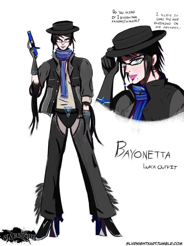 Bayonetta (Luka Variant) by SlvrNightX