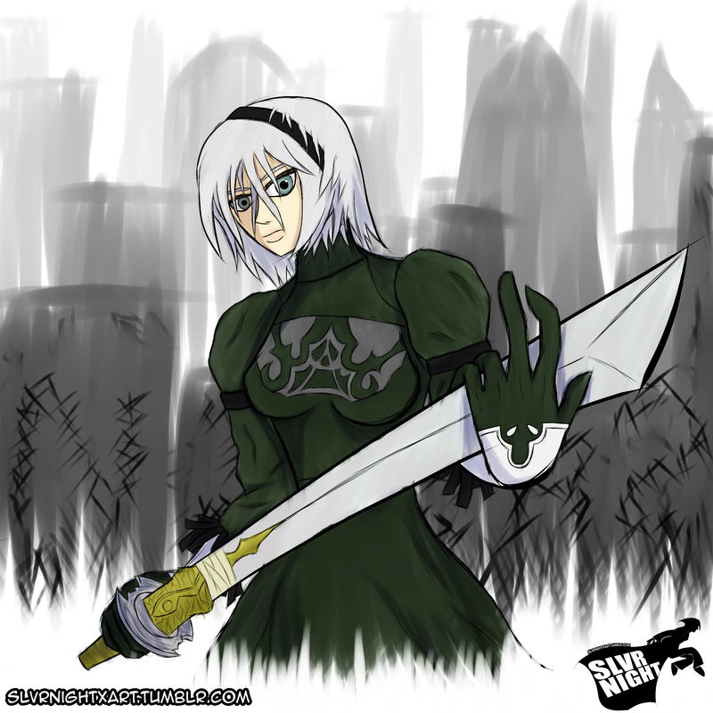 Quick Sketch: NieR 2 by SlvrNightX