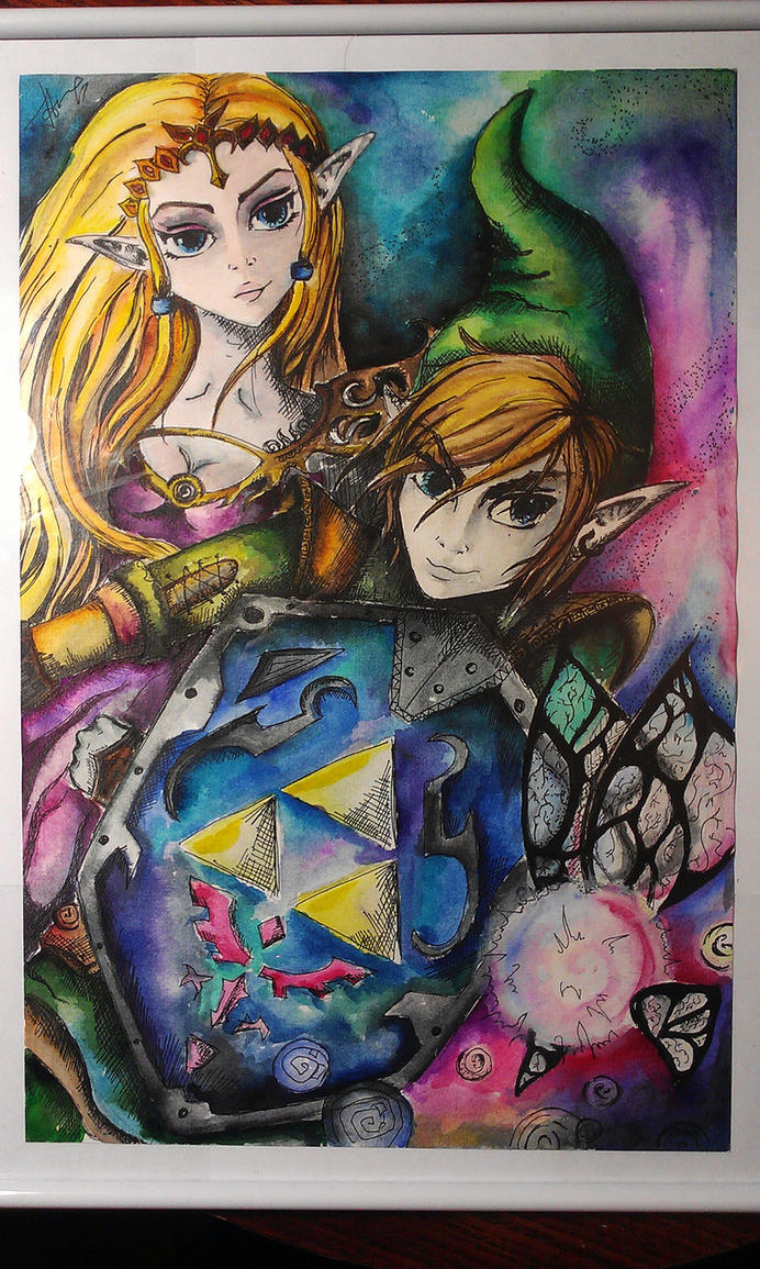 legend of zelda ocarina of time art by fairyfaily on