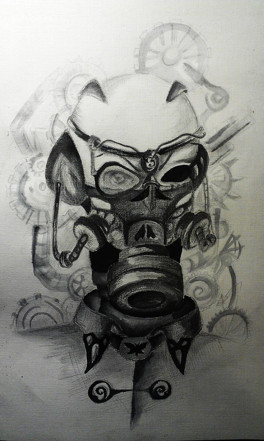 Steampunk gasmask by FairyFaily on DeviantArt
