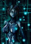 Cortana art (Halo)