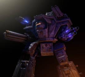 GMod/SFM: Warlord-class Battle Titan (WIP) by Joazzz2