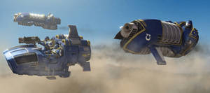 GMod/SFM: Horus Heresy Land Speeder and Jetbike