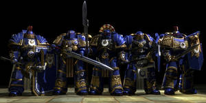 GMod/SFM: Ultramarines Honour Guard