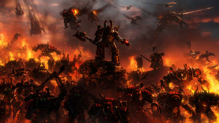 Blood and Fire by Joazzz2