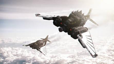 Sky Hunters by Joazzz2