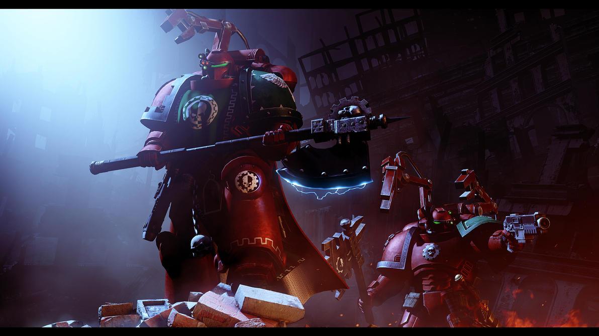 Primaris Techmarines by Joazzz2