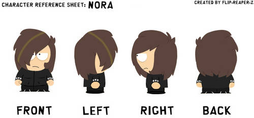 Nora South Park Ref Sheet