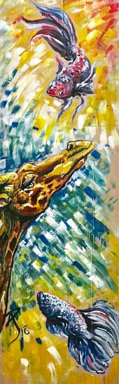 Giraffe [Betta] by IDKC